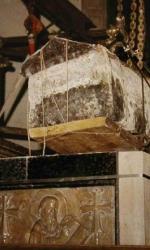 5 Immagine della ricognizione scientifica del corpo di san Luca eseguita nel 1988 a Padova