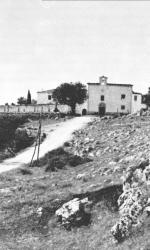 Chiesetta del convento dei Frati Cappuccini a San Giovanni Rotondo, dove Padre Pio and+¦ a vivere nel 1916