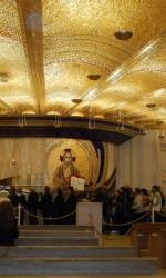 Cripta del nuovo Santuario dedicato a Padre Pio a San Giovanni Rotondo, dove il corpo del Santo +¿ abitualmente esposto al pubblico.
