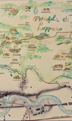 2 Indicazione mappale di Loppiano, la Mariapoli fondata da Chiara Lubich nel 1964