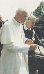Giovanni Paolo II e Luciana Frassati