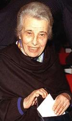 Luciana Frassati, sorella di Pier Giorgio, nata nel 1902 e morta nel 2007