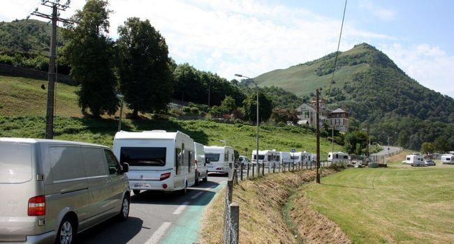 Centaines de caravanes sont arrivées à Lourdes